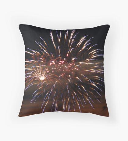 Fireworks #5 Throw Pillow