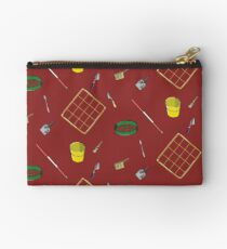 Archaeology pattern red Studio Pouch