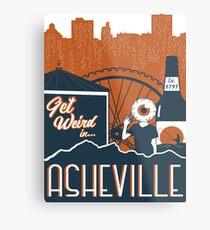 Asheville Metal Print