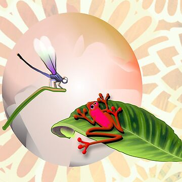 RED FROG - RedFrog and the Dragonfly by Kartoon