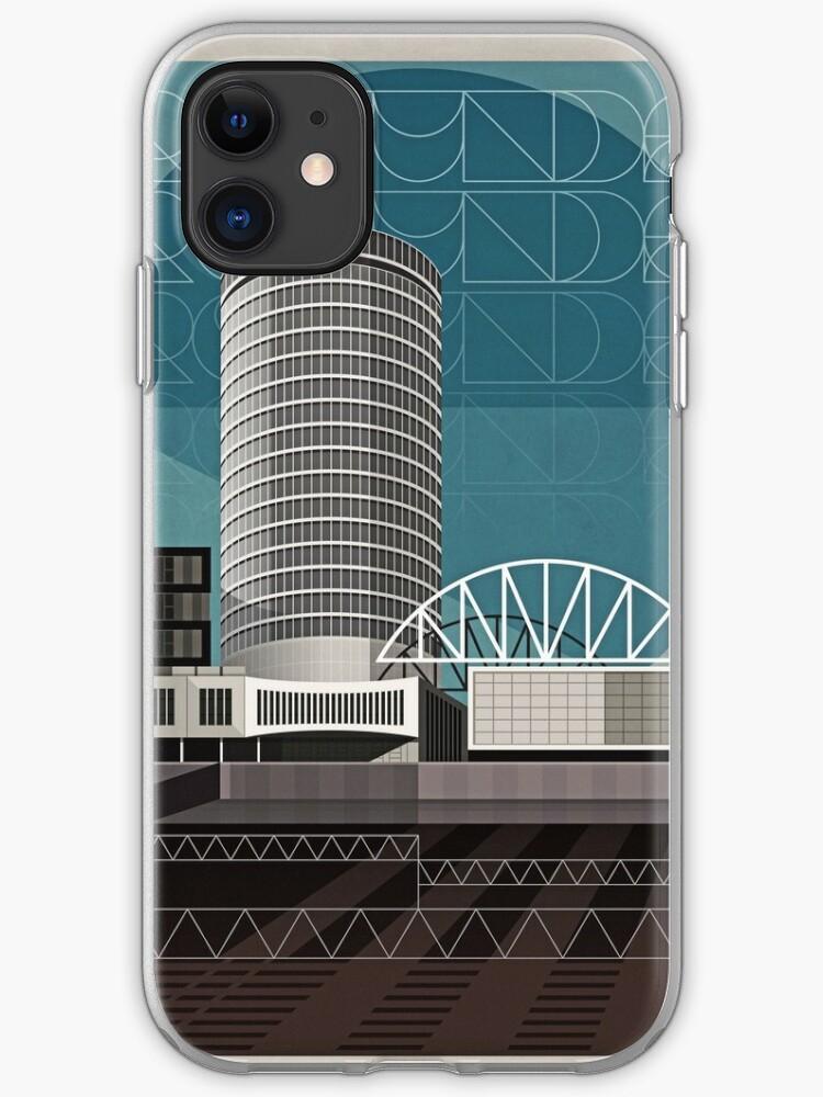 Brum Cityscape iphone case