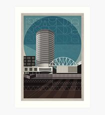 Rotunda III Art Print