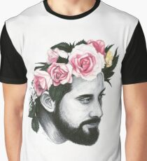 Flower Crown Avi Graphic T-Shirt