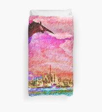 Ancient city 2 Duvet Cover
