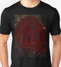 Neon Red Flower T-Shirt