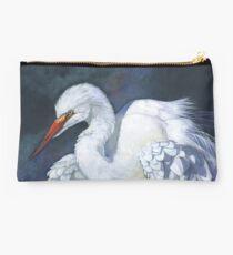 Great Egret Studio Pouch