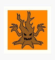 Haunted Tree Art Print