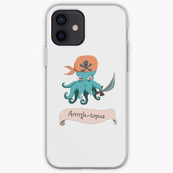 Arrgh-topus  iPhone Soft Case