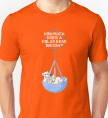 How much does a polar bear weigh? Enough to break the ice! T-Shirt