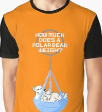 How much does a polar bear weigh? Enough to break the ice! Graphic T-Shirt