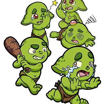 Baby Orcs - Bad Behavior 2 by EmeraldDice