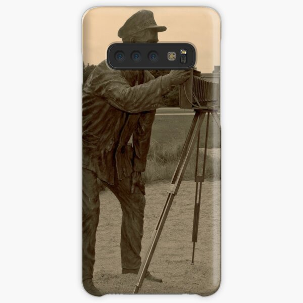 Photographer photographed at Kitty Hawk. Samsung Galaxy Snap Case