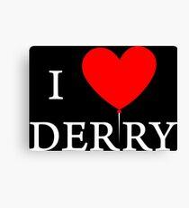 I Love Derry Canvas Print