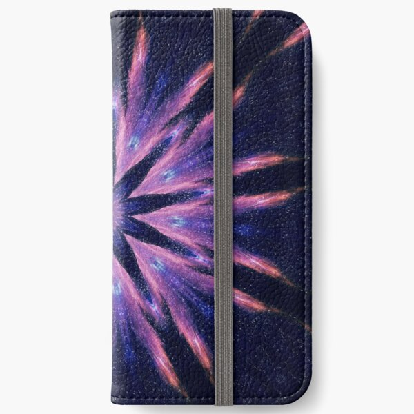 Sunset Mandala iPhone Wallet