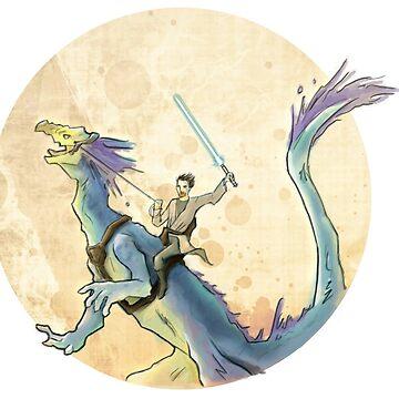 Obi-wan & Boga by Armadeello
