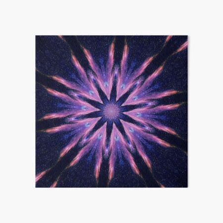 Sunset Mandala Art Board Print
