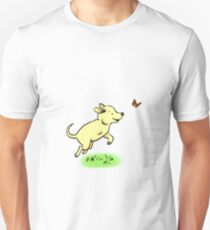 Tripod Dog, Three Legged Dog Playing T-Shirt
