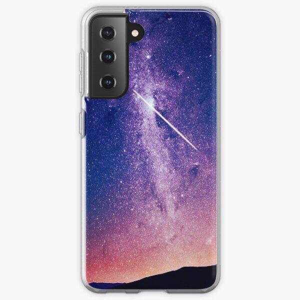 Shooting star Samsung Galaxy Soft Case