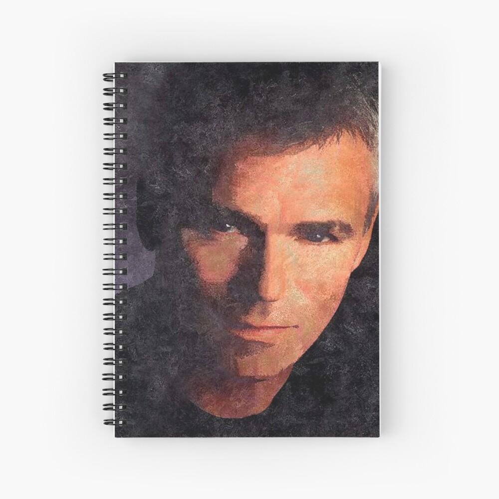 J, O'Neill  Spiral Notebook