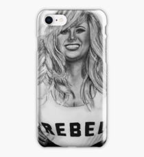 Rebel Wilson Drawing iPhone Case/Skin