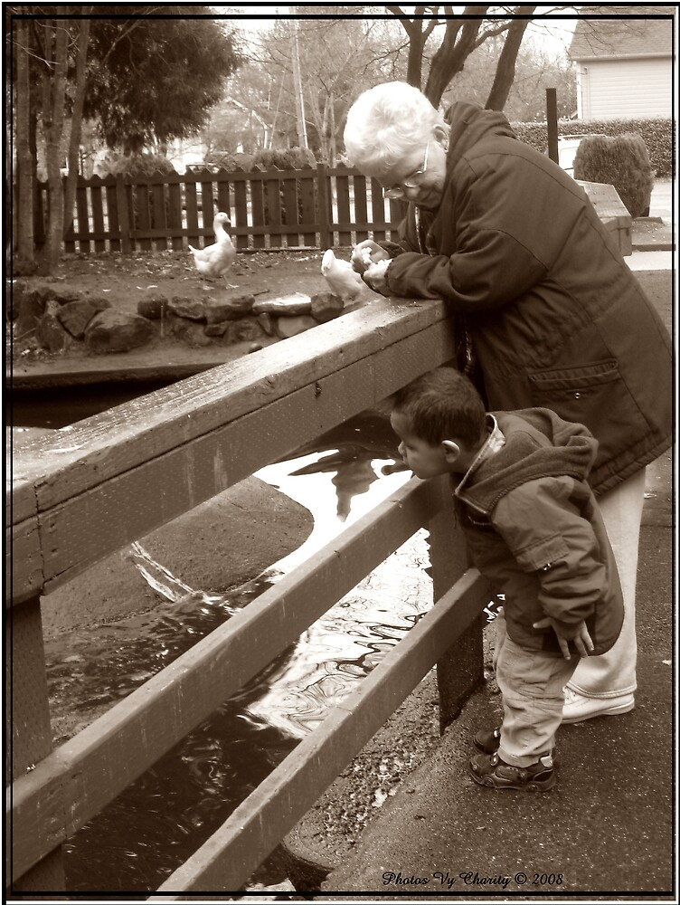 Feeding the Ducks by MamaCharity