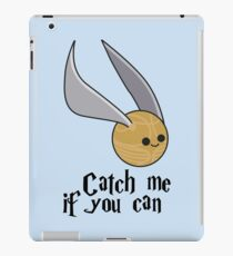 Catch me if you can!  iPad Case/Skin