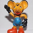East German Toy Mouse 1960`s by Remo Kurka