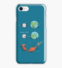 Think fast! iPhone Case/Skin