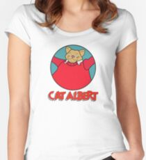 Cat Albert Women's Fitted Scoop T-Shirt