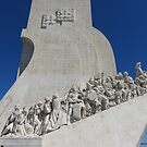 Monument to the Discoveries by Sandra Fortier