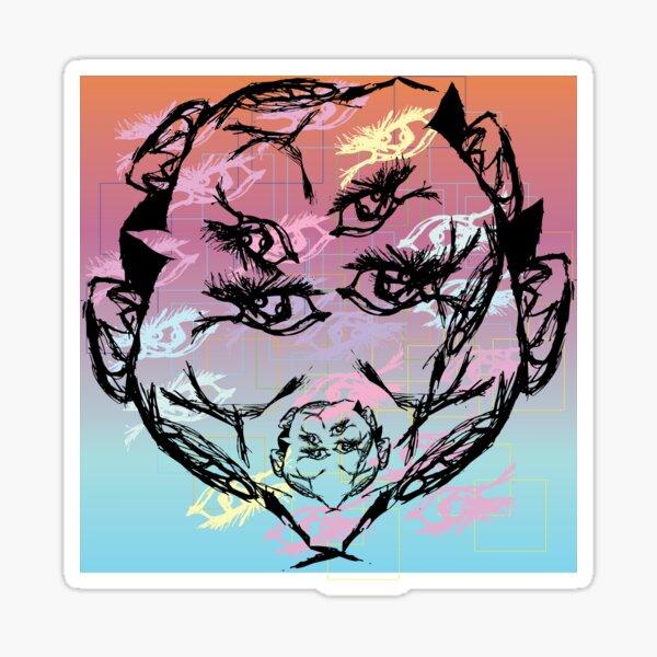 Many Faces (Silence) Sticker