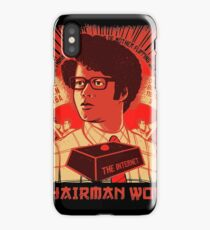 I.T. Crowd Chairman WOW Moss Quote iPhone Case