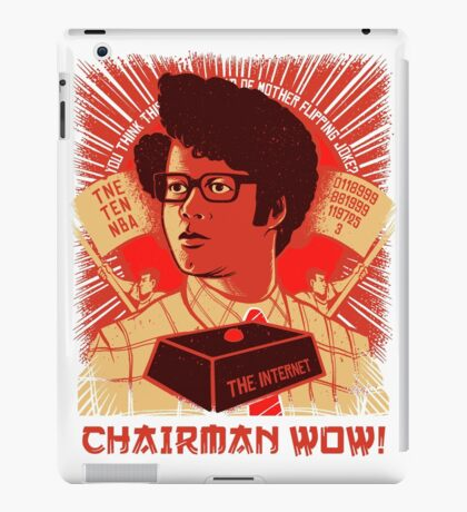 I.T. Crowd Chairman WOW Moss Quote iPad Case/Skin