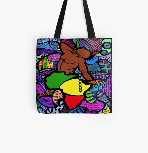 UnLeashed All Over Print Tote Bag