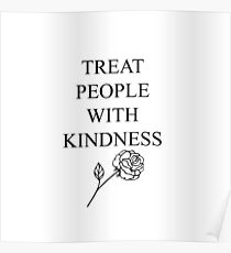 Harry Styles - Treat People With Kindness Poster