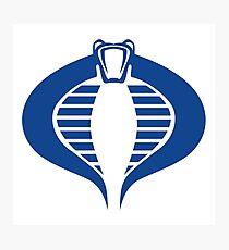 COBRA Insignia (blue) Photographic Print