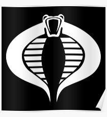 COBRA Insignia (white) Poster