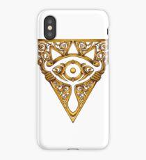 Sheikah Victoriana Legend of Zelda Vintage eye iPhone Case