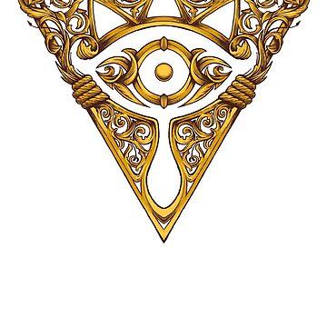 Sheikah Victoriana Legend of Zelda Vintage eye by 6amCrisis