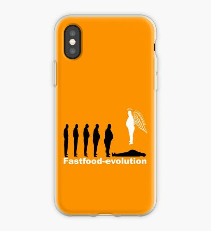 Fastfood evolution iPhone Case