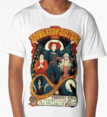 Sanderson Sisters -Tour Poster Long T-Shirt
