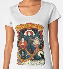 Sanderson Sisters -Tour Poster Women's Premium T-Shirt