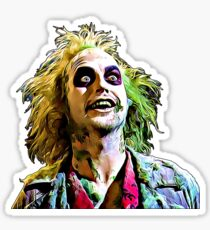 Beetlejuice Art Sticker