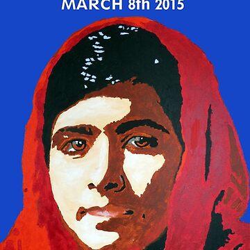 MALALA INTERNATIONAL WOMEN'S DAY by DJVYEATES