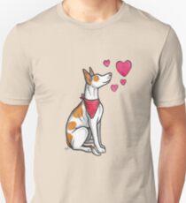 Ibizan Hound love Unisex T-Shirt