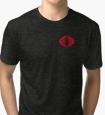 COBRA Insignia (red) Tri-blend T-Shirt