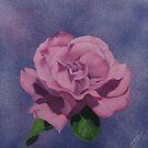 Floating Rose by NyreeMason