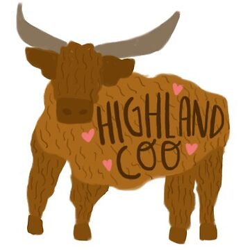 Highland Cow  by delabrmr