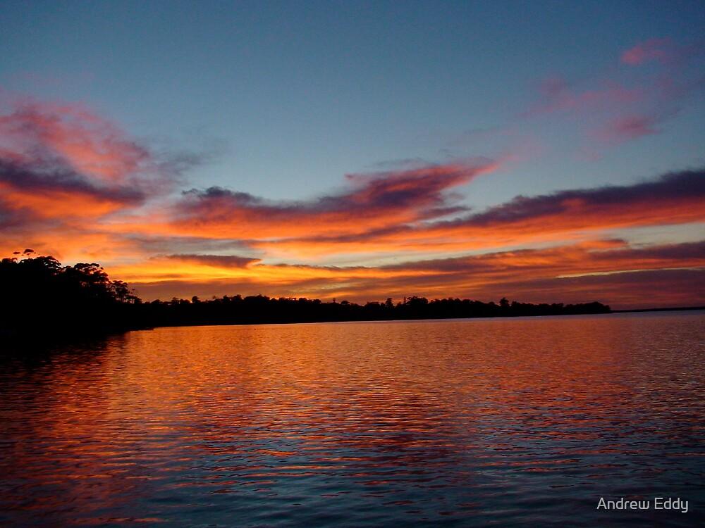 Sunrise Bancroft Bay by Andrew Eddy