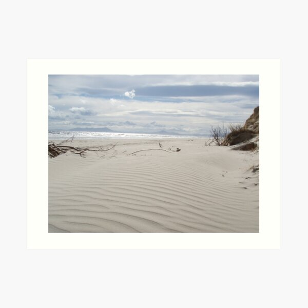 Ocean Beach, Strahan, Tasmania Art Print